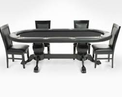 Poker Table Chairs Poker Table Etsy