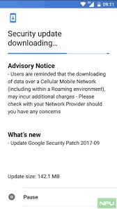 android security update nokia beats to releasing september android security update