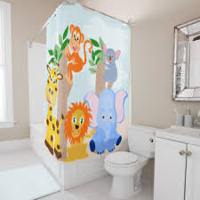 Kids Bathroom Shower Curtain Kids Bathroom Shower Curtains Zazzle