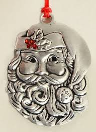 avon annual pewter ornament at replacements ltd