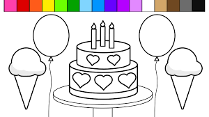 printable coloring pages to learn colors balloons coloring page to color pages breadedcat printable holidays