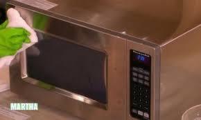 Martha Stewart Kitchen Appliances - video how to clean a microwave martha stewart