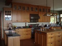 mission style oak kitchen cabinets rift and quartersawn oak kitchen