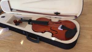 violin black friday sale violinfiddle full size 4 4 natural acoustic violin fiddle case