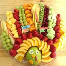 turkey veggie tray holidays working