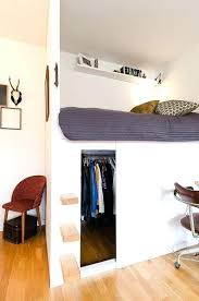 bed in closet ideas loft beds with closets upsite me