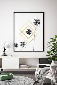 tropical leaf printable black white gold printable tropical leaf