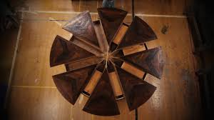 expandable round table time lapse western heritage furniture