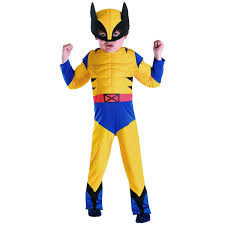 hbk halloween costume amazon com wolverine classic muscle toddler size 2t clothing