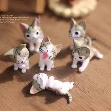 small ornament landscape mini cats micro models for garden