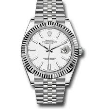 rolex bracelet white gold images Rolex datejust ii steel and white gold black dial 41mm jpg