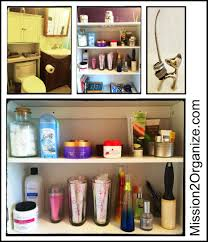 Organize Bathroom Cabinet by Mission 2 Organize How 2 Organize Beauty Products In Your Bathroom