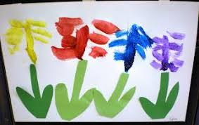 spring painting ideas spring exploration in preschool flower painting