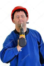 worker with stock photo muro 8109647