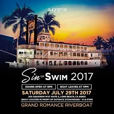 sin or swim 2017 boat party tickets 07 29 17