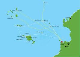 fiji resort map fiji island resort transfers connections south sea cruises