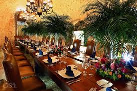 wine cellar table rainy xcaret wine cellar wedding chantal and rich del sol