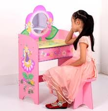 childrens dressing tables with mirror and stool kids dresser bedroom furniture wooden fairy children dressing table