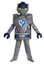 Halloween Boys Costumes Deluxe Nexo Knights Clay Boys Costume