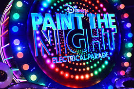 disneyland to say goodbye to paint the night