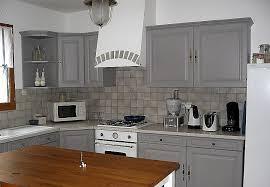 cuisine repeinte en gris meuble repeint en gris perle best of peinture cuisine meuble