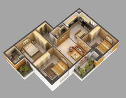 model home pictures interior detailed house cutaway 3d model cgtrader