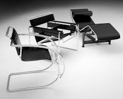 marcel breuer collection wassily chaise lounge 3d model in maya
