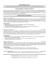 sle executive resume operations and sales manager resume template for retail saneme