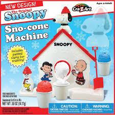 amazon com the original snoopy sno cone machine kitchen u0026 dining