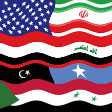 Lybian Flag Band Together Music From Syria Iran Iraq Libya Somalia Sudan