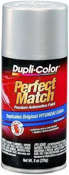 hyundai elantra paint colors amazon com dupli color bhy1800 bright silver metallic hyundai