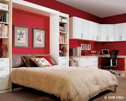 bedroom elegant luxury red bedroom decoration using solid cherry