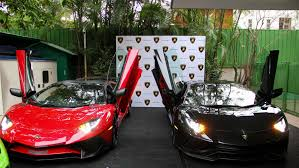 first lamborghini aventador india u0027s first lamborghini aventador s delivered drivetribe