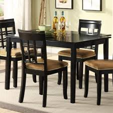 Modern Kitchen Tables Black Fascinating Black Kitchen Table Home - Black kitchen tables