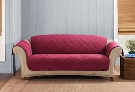 sure fit reversible suede u0026 sherpa furniture cover