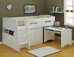 storage loft bed with desk jupiter loft bunk bed with desk and storage