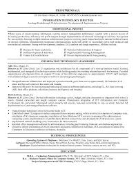 information technology resume examples jospar