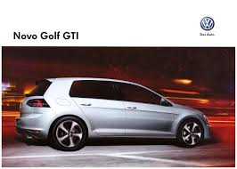 brazil volkswagen thesamba com vw archives 2015 vw novo golf gti sales brochure