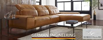 German Leather Sofas German Engineering In Sofas W Schillig City Schemes