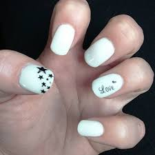 nail art white and black nail art designs ideas design trends