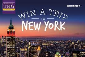 New York how long does it take for mail to travel images Win a trip to new york with the western mail wales online jpg
