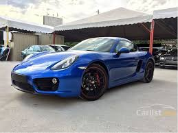 porsche cayman 2014 porsche cayman 2014 2 7 in kuala lumpur automatic coupe blue for