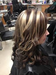 blonde hair with chunky highlights blonde chunky highlights in brown hair brown hairs
