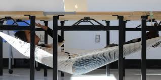 Studio Trends 30 Desk by The Schnap Hammock Lets You Nap Under Your Desk Business Insider