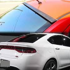 2013 dodge dart spoiler unpainted dodge dart 2013 20015 4dr sedan rear roof window spoiler