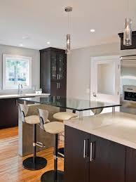 modern kitchen with bar photos mary beth hartgrove hgtv