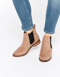 womens boots kurt geiger miss kg chelsea boots taupe suedette shoes kurt