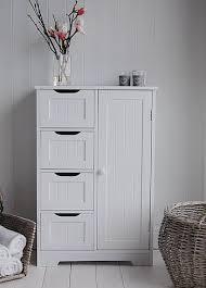 White Bathroom Storage Cabinet Freestanding Bathroom Cabinet White Bathroom Storage