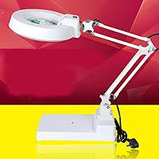 le de bureau loupe loupe agrandisseur bureau loupe avec la lumière 10 fois la vieille