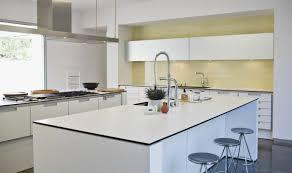 ilot cuisine blanc 50 idées d îlot central cuisine blanc de design moderne